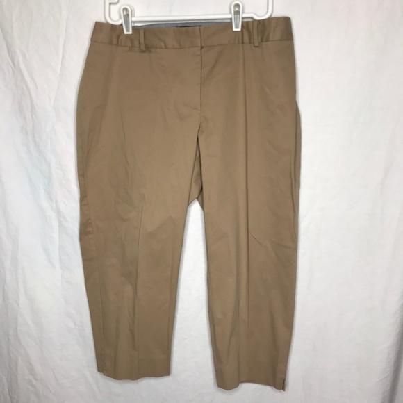 ad986c9eee4 Talbots 16WP Heritage Khaki cropped pants NWT